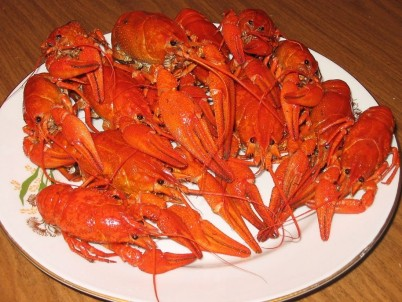 crayfish dinner